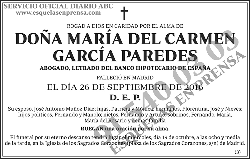 María del Carmen García Paredes